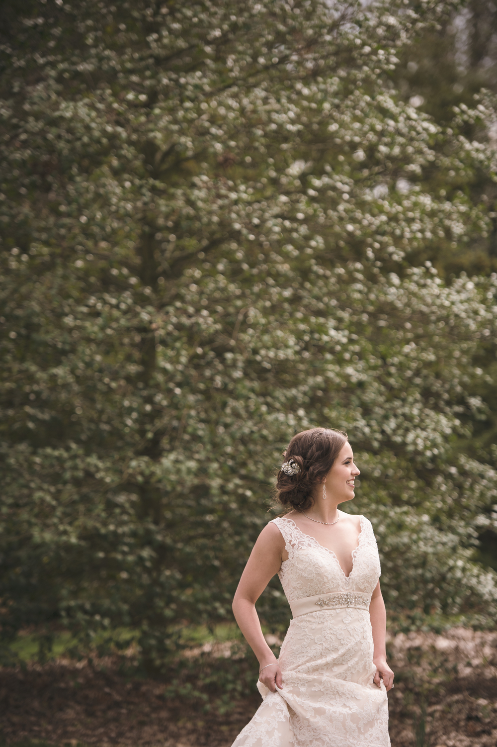 Wedding photography at The Park of Roses in Columbus, OH