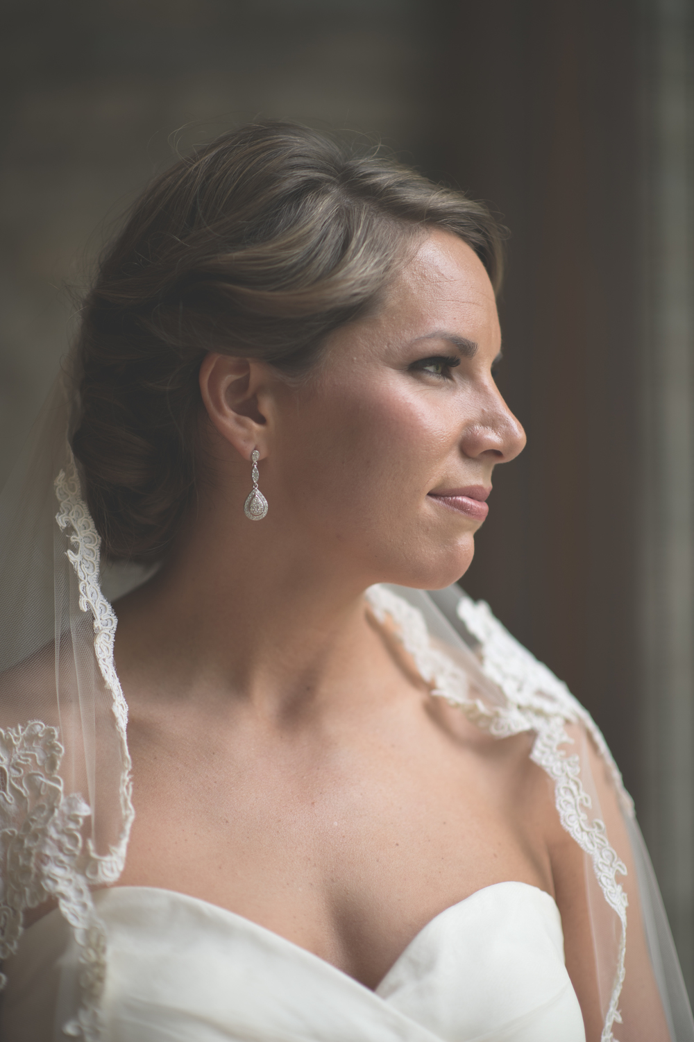 Bride's portrait at The Darby House