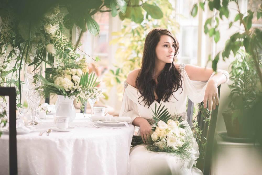 English garden wedding photography