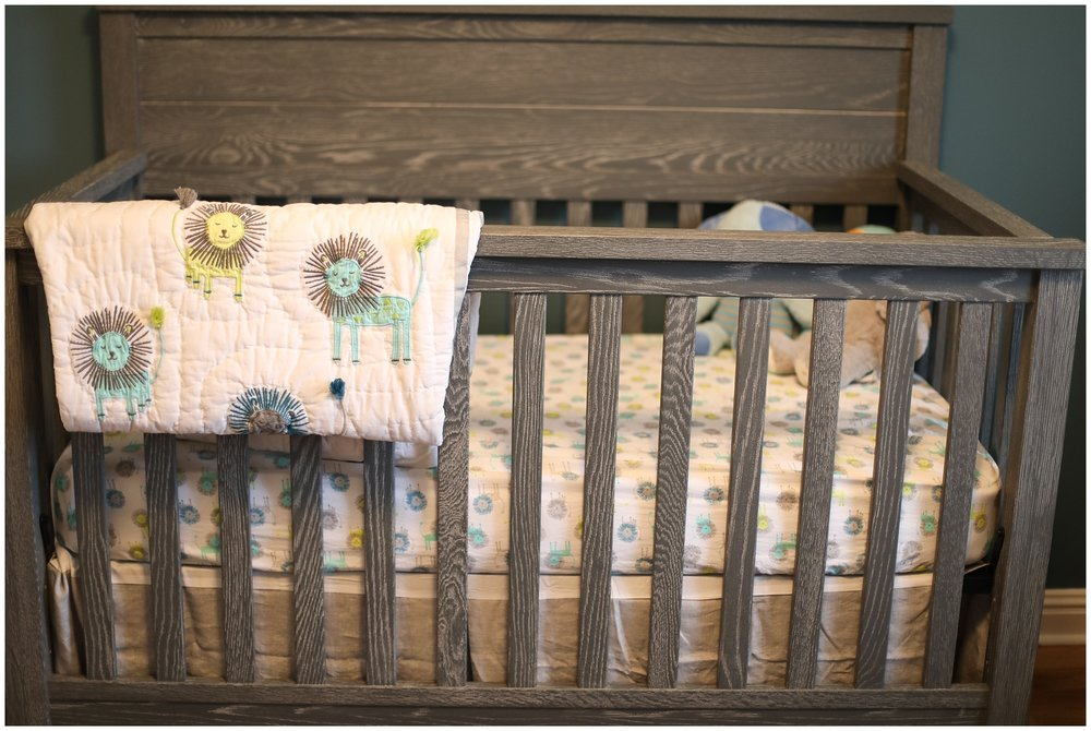 pottery barn crib nursery