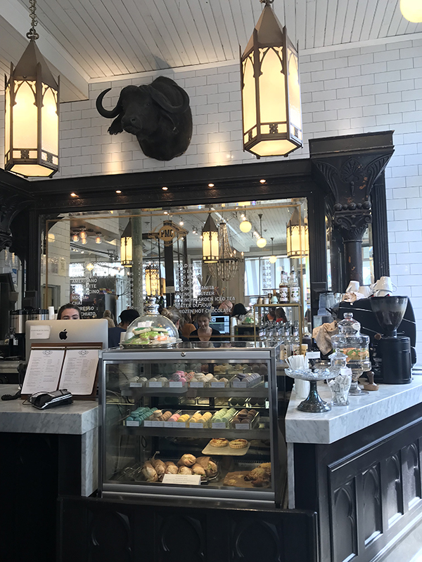 The Paris Market is a shop and cafe inspired by the owner's travels around the world.