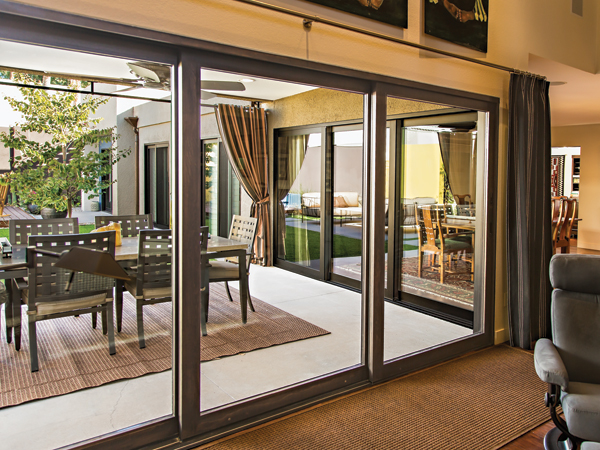 Doors california energy services folsom sacramento ca for In wall sliding glass doors