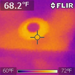 infrared light image california energy services