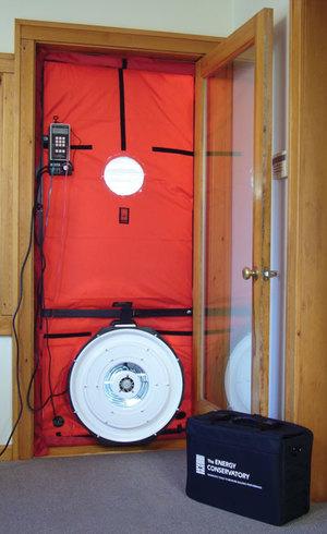 blower door california energy services