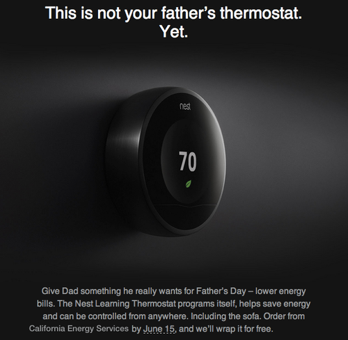 nest father's day