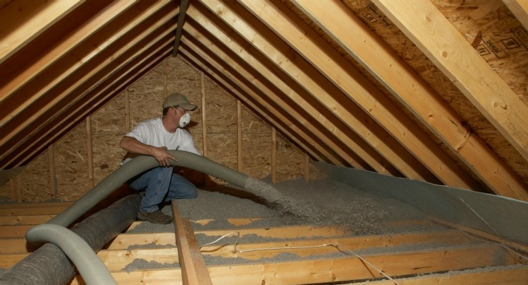 attic insulation technician California Energy Services