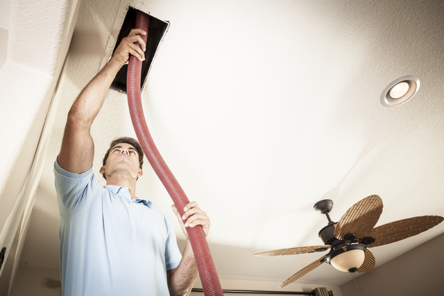 duct cleaning technician California Energy Services