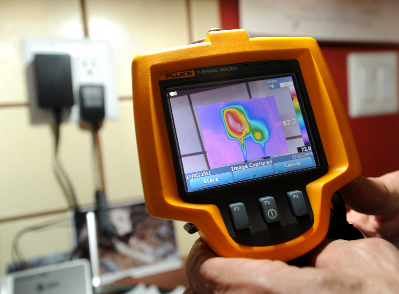 infrared camera view California Energy Services