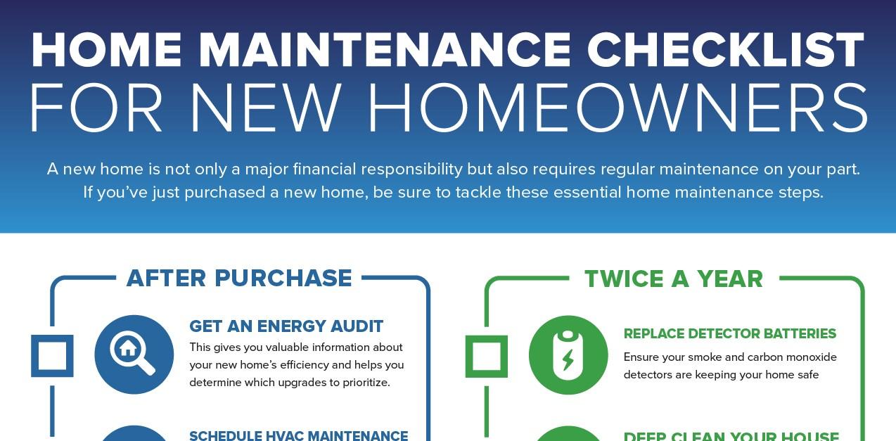 home maintenance checklist for new homeowners ces el dorado