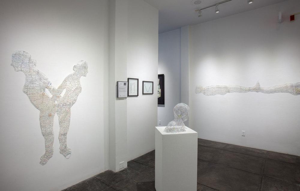 Cut , Solo Exhibition at the Jonathan Ferrara Gallery, 2013