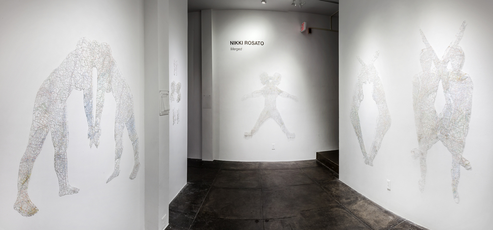Merged , Solo Exhibition at the Jonathan Ferrara Gallery, 2015