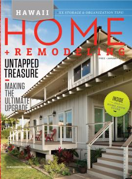 HAWAII HOME + REMODEL MAGAZINE, JANUARY 2015