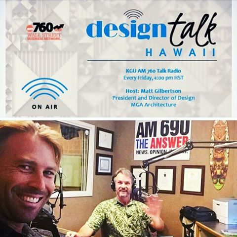 Tune in now for design talk Hawaii! AM 760 Blue+Green Innovations president Travis Wittmeyer is speaking about ADUs (Accessory Dwelling Units) 🌴Aloha ... #honolulu #hawaii #radio