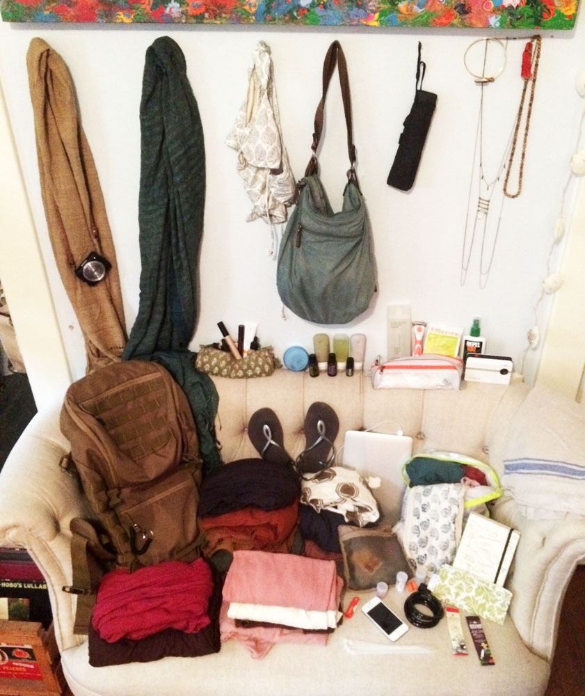 Yes! I can carry all this on my back (except the couch, of coure)! ;)