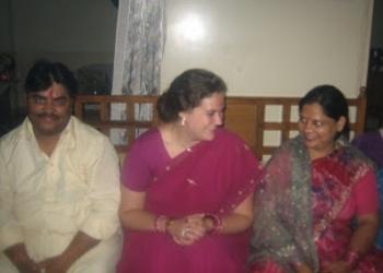 Diwali, Nov 2008 with Papaji & Mommyji