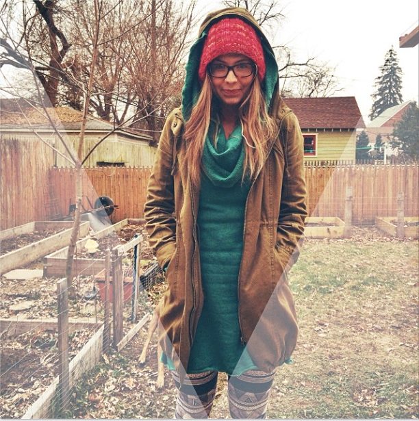 """Layers, on layers, on layers"" #ootd #gaiaconceptions #hemp #organic #handmadeknits #supportlocal"