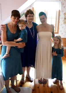 Celebrated an amazing wedding this weekend! Thanks so much for decking out all the ladies in beautiful dresses