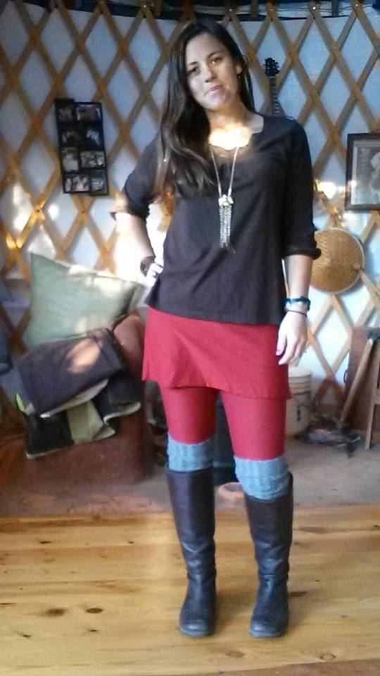 Love me new skirted leggings! I wanna wear them everyday!! - Kelly Anne