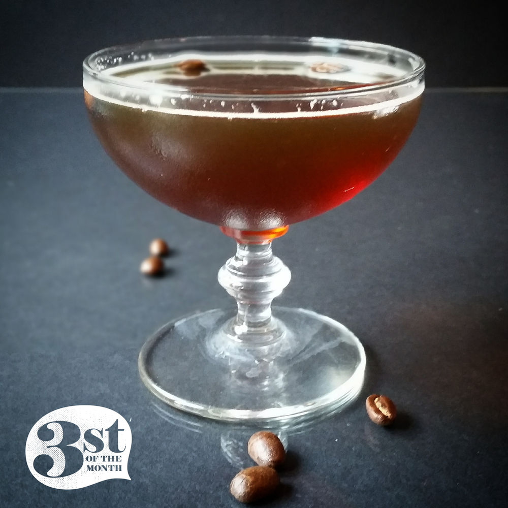 3st of the Month presents: The Georgia Kingpin - Pecan Vodka, sweet vermouth, coffee and orange liqueur combine to make something killer.
