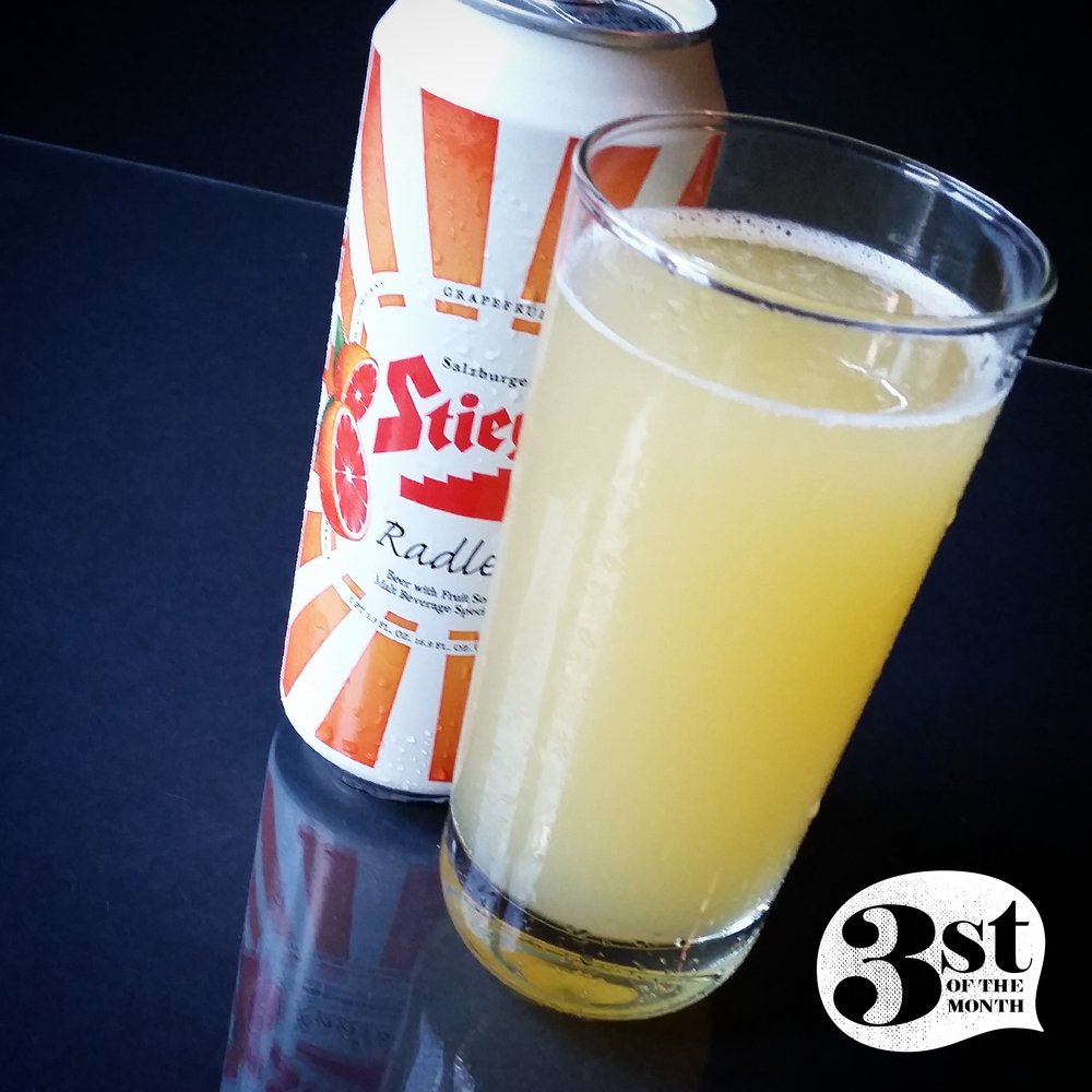 Shit we love: Stiegl Radler - Grapefruit Soda and Beer in one can!