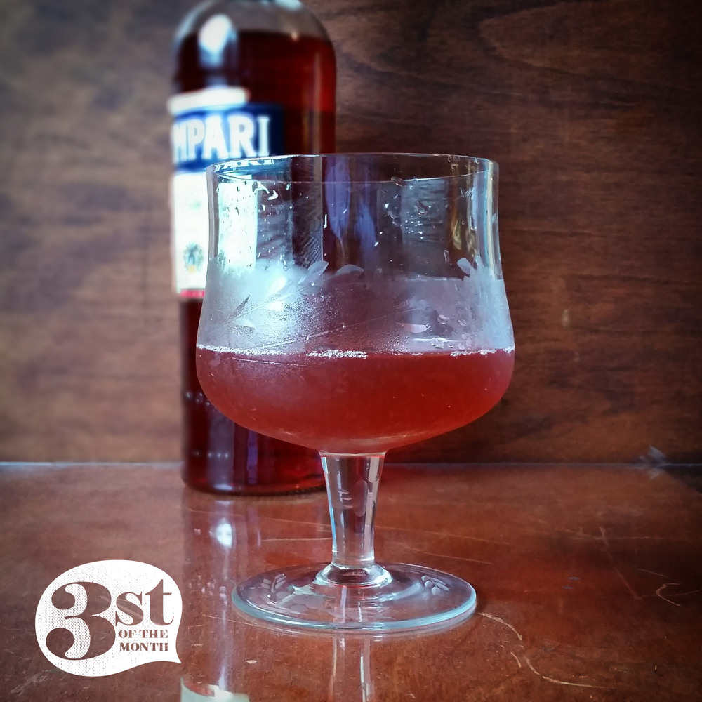 By Any Other Name | Bourbon, Campari, rose syrup and other goodies combine in harmony!