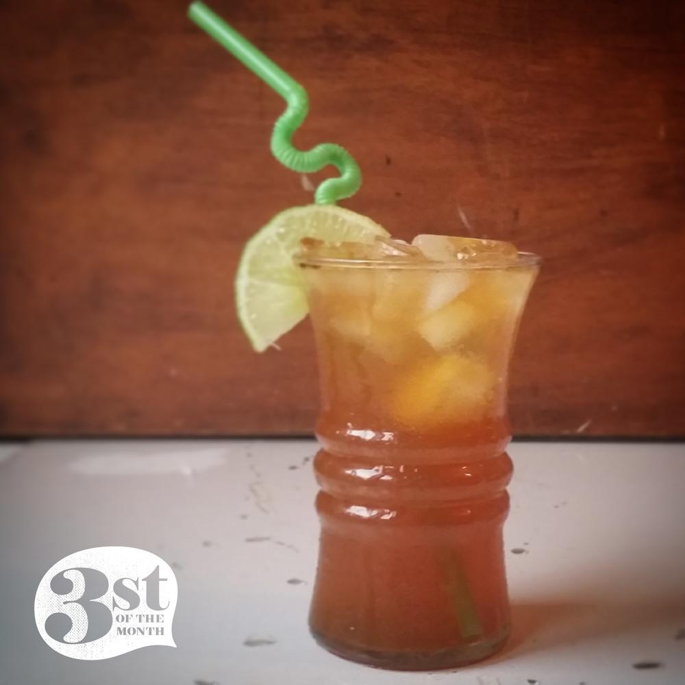 3st Presents: Cardamom Rum Spritz