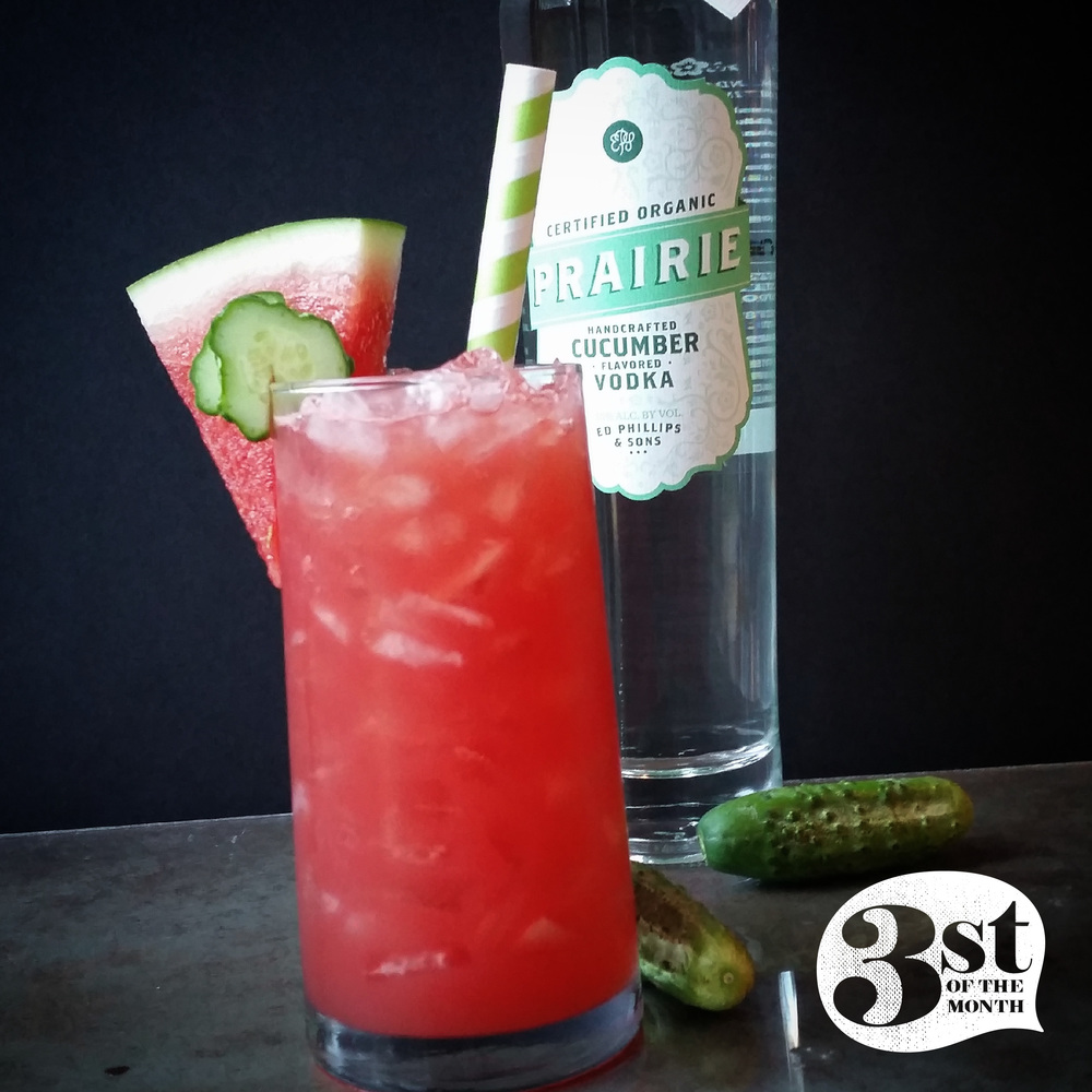 Watermelon Cooler cocktail from 3st of the Month