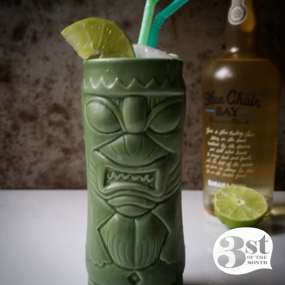 Barefoot Banana Tiki drink from 3st of the Month