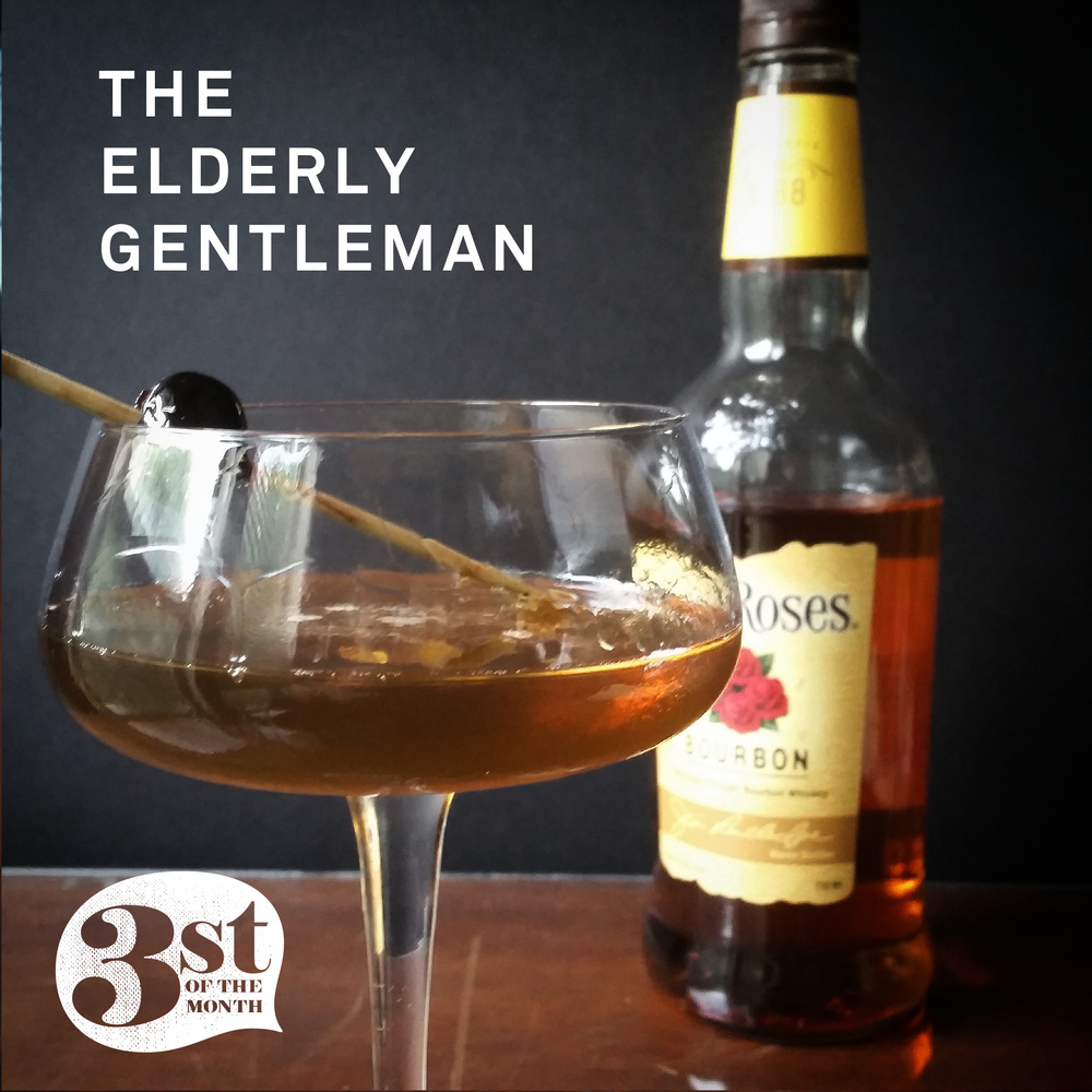 Make this boozy bourbon drink: The Elderly Gentleman from 3st of the Month