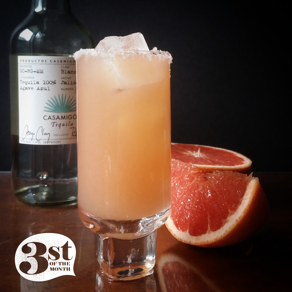 Salted Grapefruit Margarita! Yes, it's that good.
