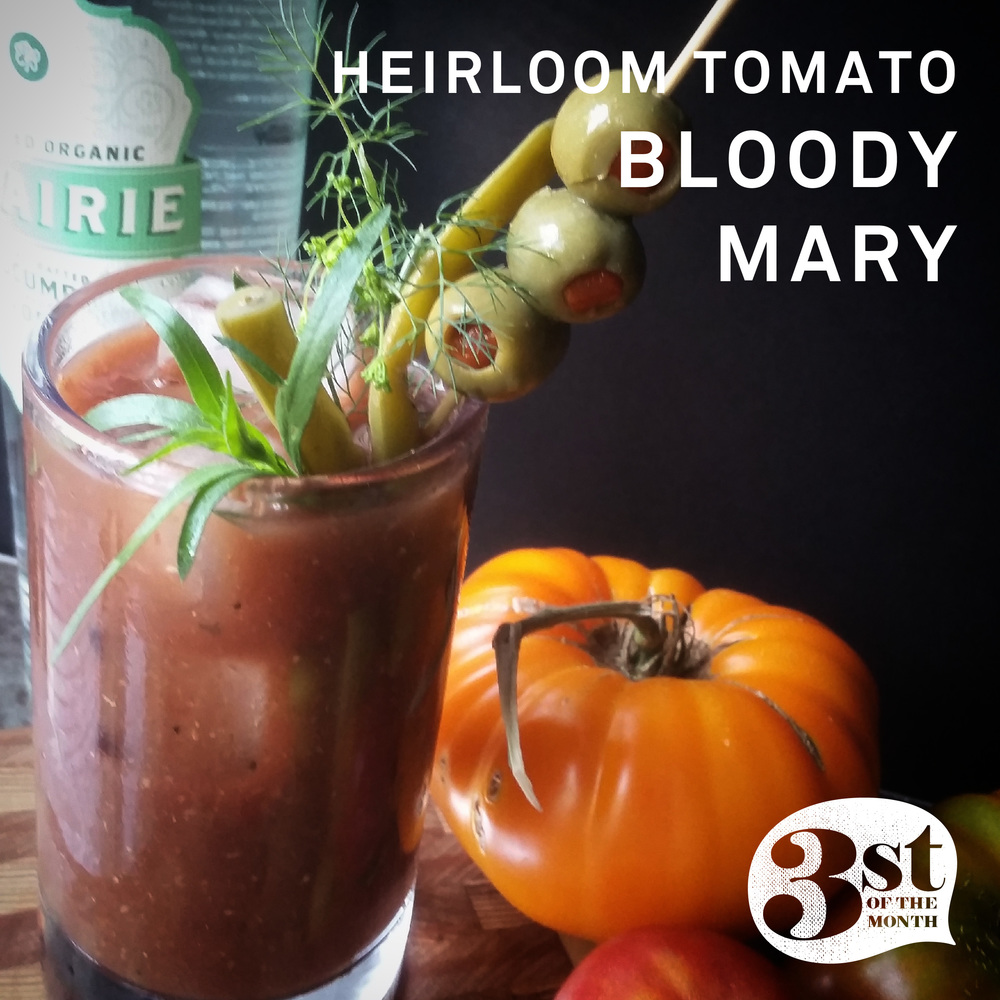Make your own Heirloom Tomato Bloody Mary - it's easy!