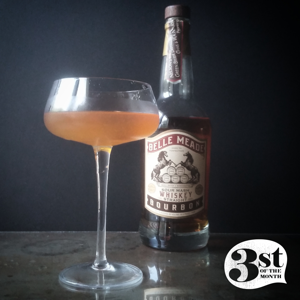 The Stonefruit Sipper cocktail from 3st of the Month