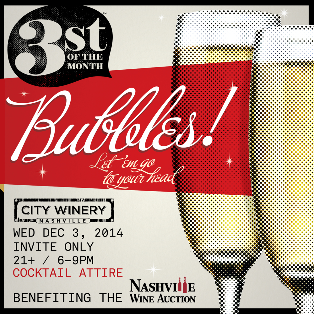 December 2014 3st of the Month: Bubbles!
