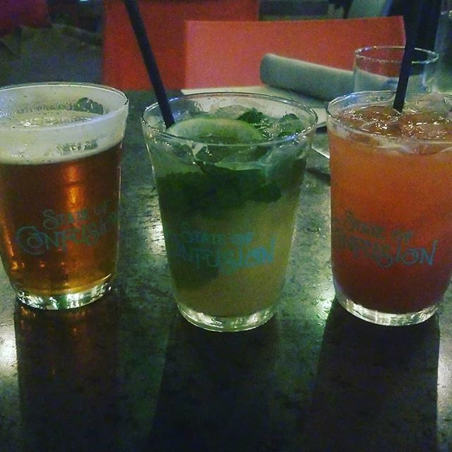 All of the drinks!  Little @huttonandsmithbrewing IPA, Fresh Pressed Mojito, and a Strawberry Basil Agua Fresca with @trianontequila - @confusionchattanooga. Get tickets while you can for the next 3st before it's to late!!