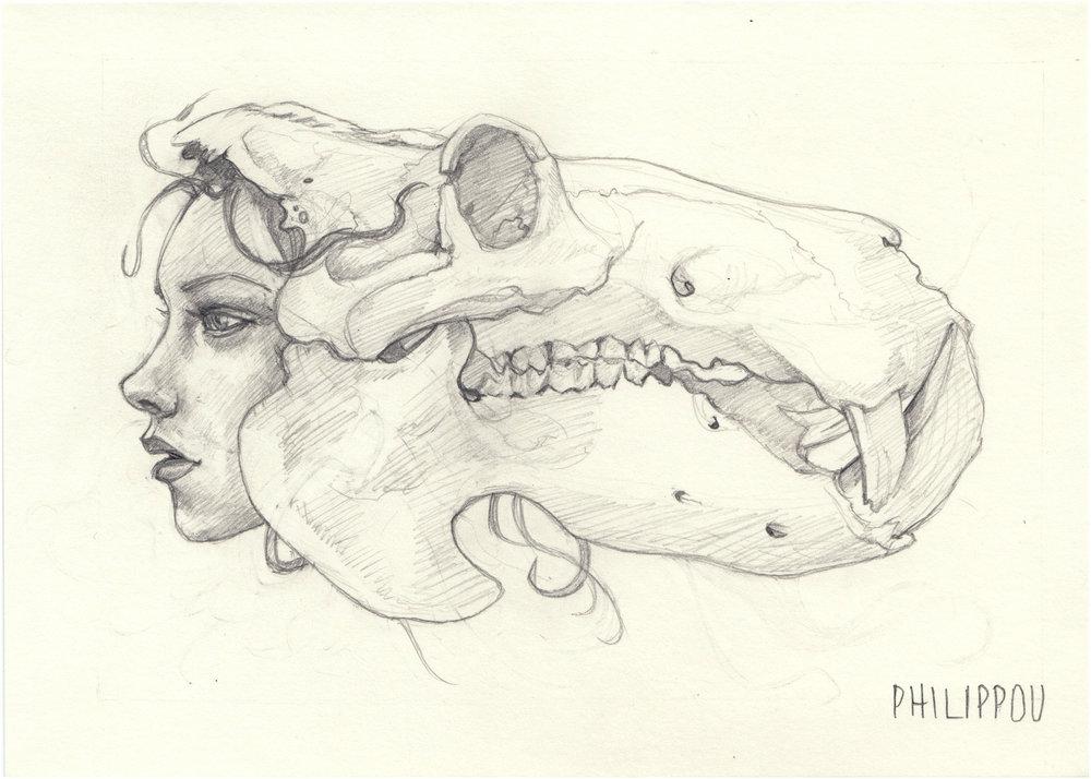KALEIDOSKULL HIPPO | Study