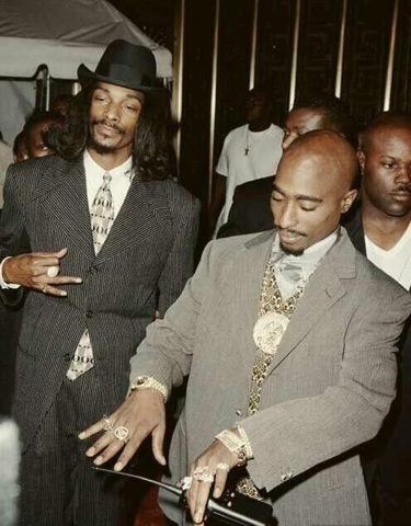 Snoop Dog and Tupac