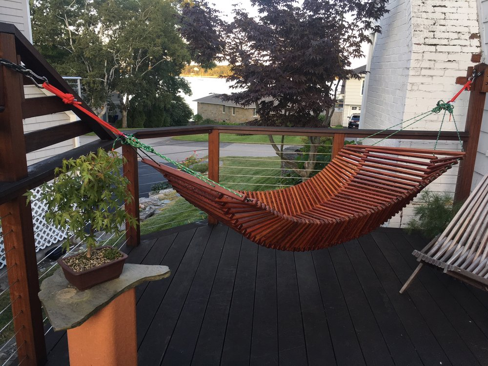 The Contour Hammock in Jatoba
