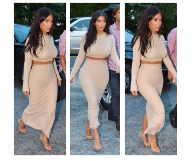 Put your best foot forward in Kim Kardashian Prada heels.jpg