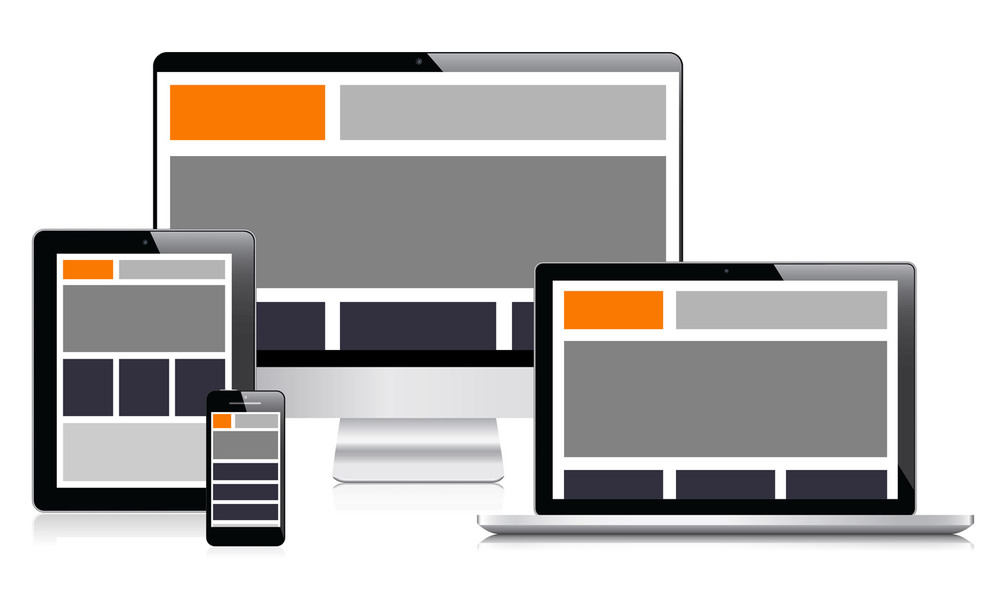 Think of the content of a website like water - it adapts to fill the entire space that it is placed in.