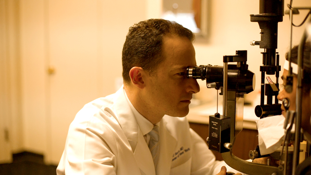 Dr. Tal Raviv, Medical Director of the  Eye Center of New York