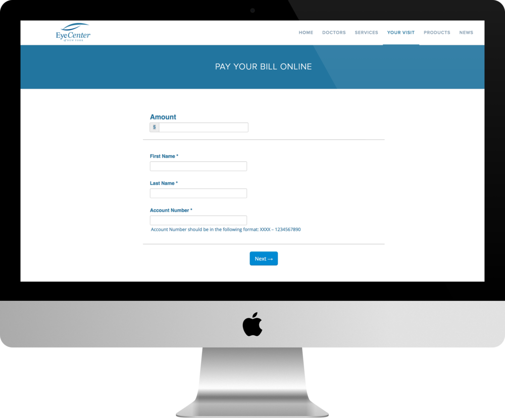 Online Bill Pay Portal