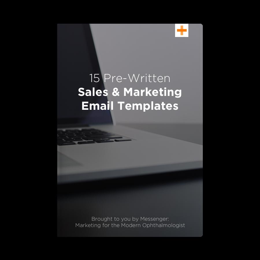 15 Pre-Written Sales & Marketing Emails — Messenger