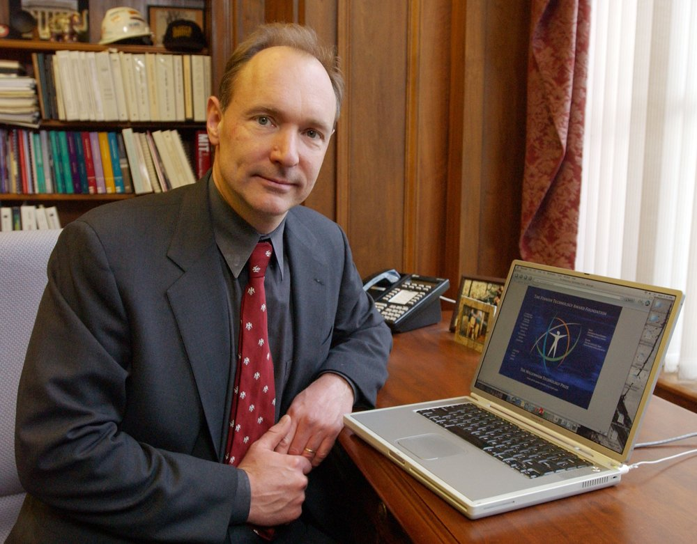 Tim Berners Lee, the grandfather of the Internet
