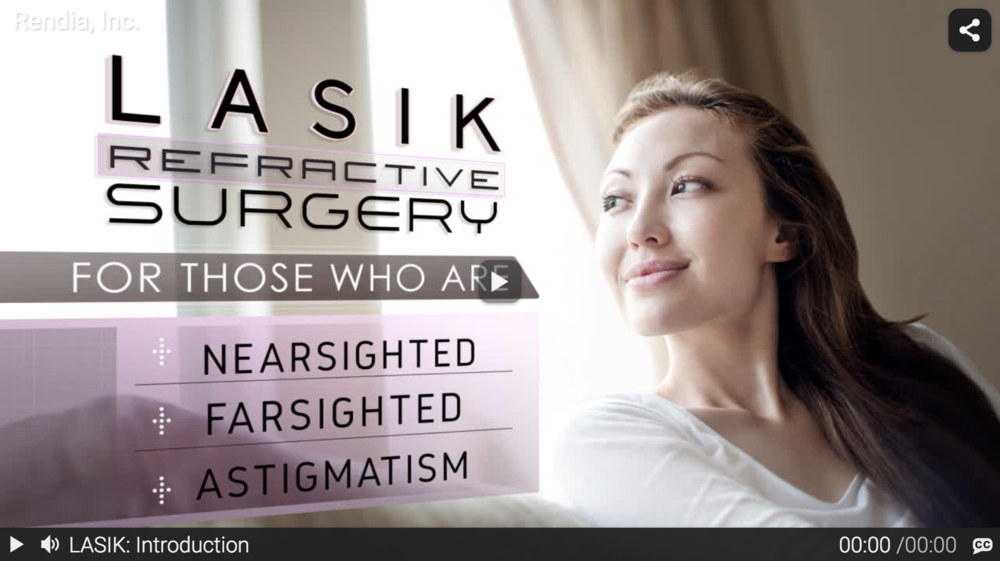A sample of a Rendia video on LASIK