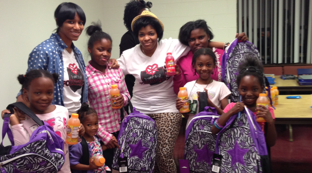 In September 2013, we teamed with Deliverance Church in North Philadelphia for the Back to School Backpack Giveaway where we gave away backpacks and school supplies to kids who would otherwise have to start the school year without.