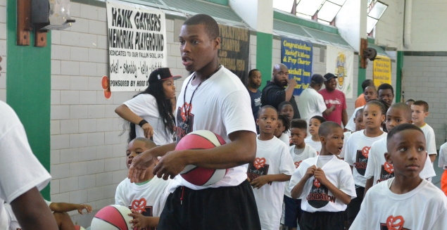 On June 29th, 2013, we held our Foundation's very first event, the 1st Annual Kyle Lowry Skills Clinic at the Hank Gathers Recreation Center in North Philadelphia. With attendance surpassing 100, the event was a great success and we hope to build upon that success year after year.