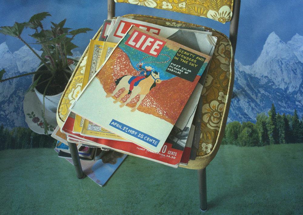 - Handmade Life magazinephotographed in still life set.