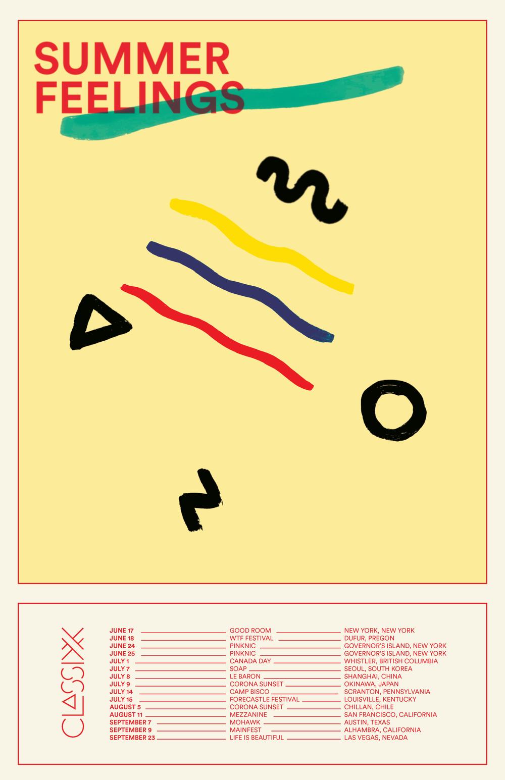 - Classixx 2017 tour poster