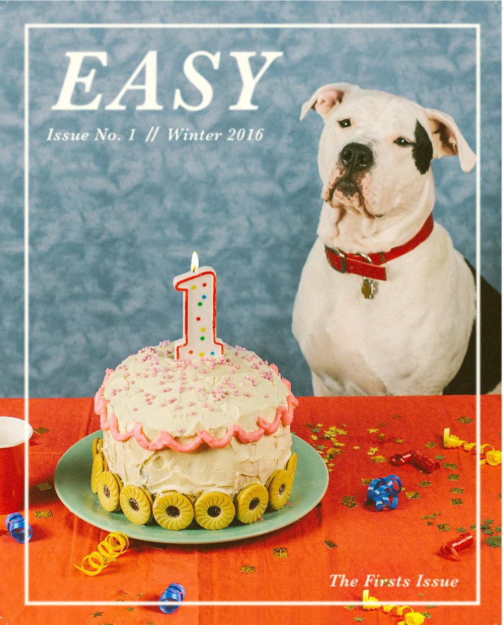 - Cover photo and designfor Easy Magazine