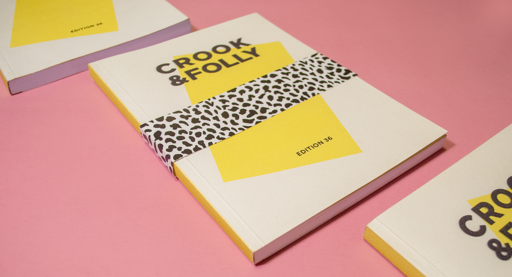 - Cover art, design, and productionfor DePaul's annual art andliterary magazine Crook and Folly
